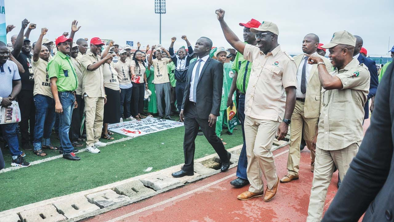 Workers' Day speech by Governor Godwin Obaseki of Edo State