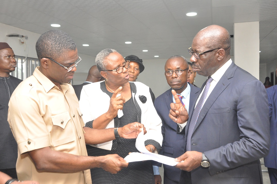 Pensioners' welfare: Obaseki converts Ethiope Publishing House to Pension Office    ……new office to be fitted with tech, inspects road projects, stadium reconstruction, others