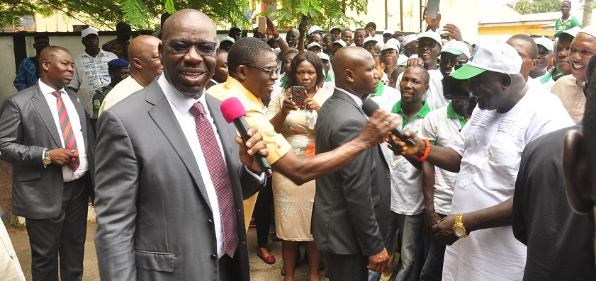 Obaseki slashes market levy by 40%, as NURTW lauds developmental strides