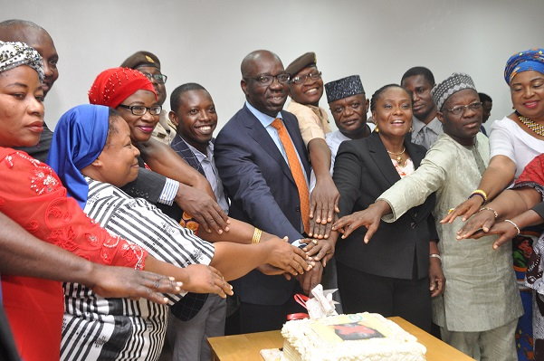 Fight against human trafficking: Obaseki lauds EU, Benin Monarch as task-force clocks one year