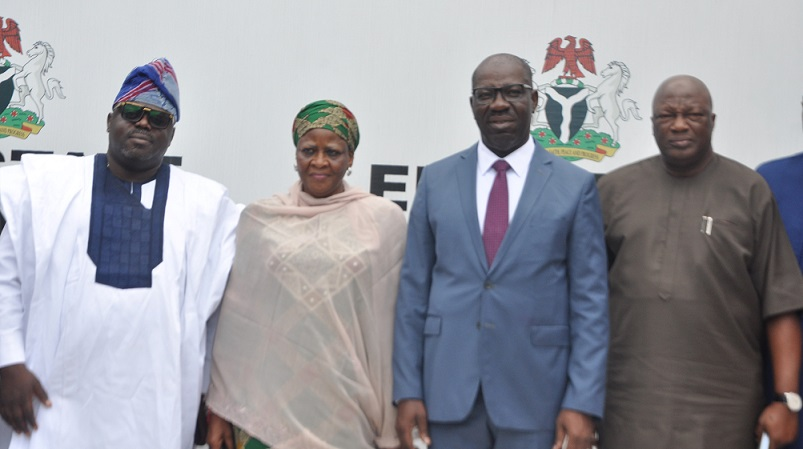 Obaseki pledges support for NYSC, says fund appropriated for orientation camp, not utilised