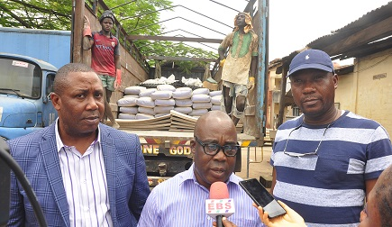 Edo Govt. donates relief materials to communities affected by windstorm