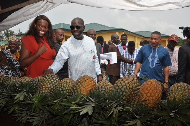 Obaseki inaugurates agric cluster, skills centre in Ehor, pledges to address devt challenges