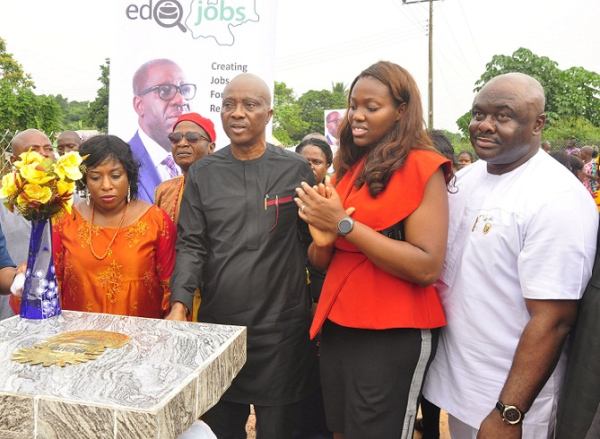 Obaseki unveils multi-skills centre with 150 youth to be trained in pilot phase