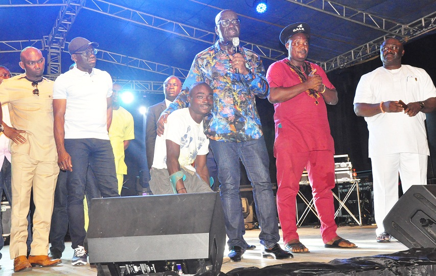 Alaghodaro: Waje, Mayorkun, others light up Benin as Obaseki plans 30-hectare TV Village