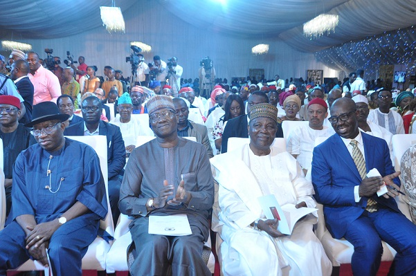 Buhari, Gowon, Jonathan charge traditional rulers on fostering unity, as Obaseki assures on Benin Royal Museum project