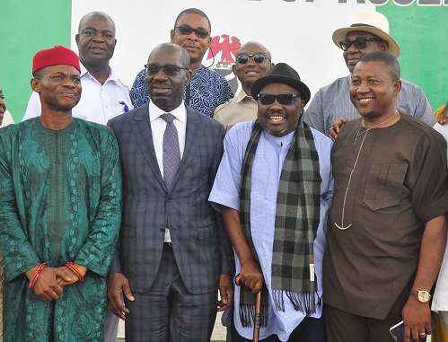 Obaseki commends EDHA for efficient resource use, facelift of Assembly complex