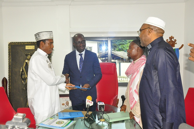 Obaseki receives 2018 Hajj Report, assures more Govt's support