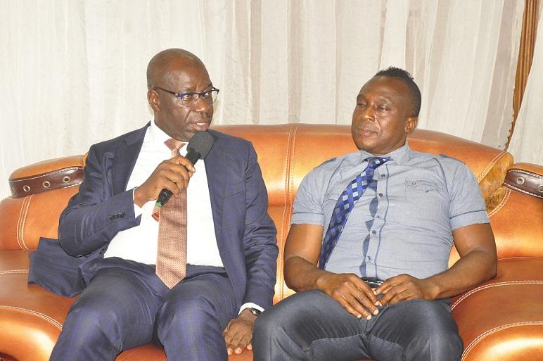 UNIDO, Edo Govt.  to construct 2MW Micro Dam in Benin City as Obaseki visits Iyayi family