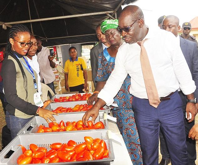 Yuletide: Obaseki celebrates Edo market women