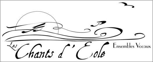 logo Les Chants d'Éole version noir&blanc