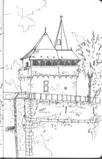 Vieux donjon du château des Ducs de Bretagne