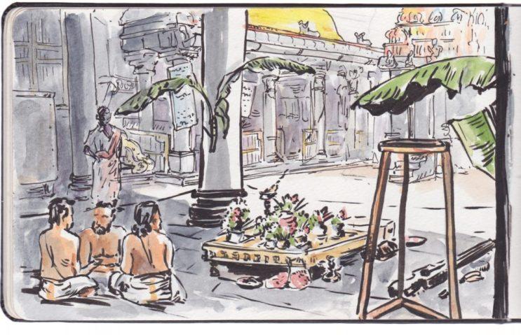 Temple Shiva Nataraja à Chidambraram