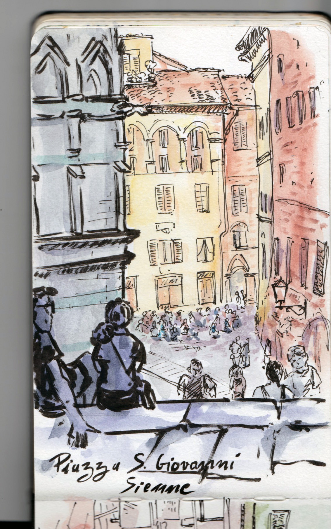 Piazza S. Gioanni — Sienne