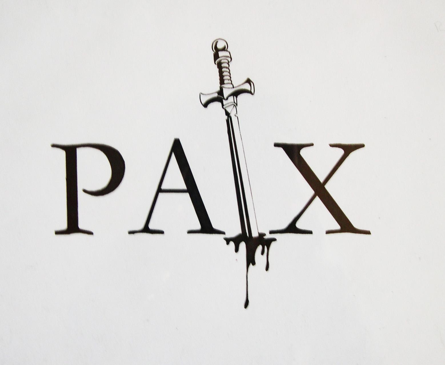 """""""Paix"""" (feutre)"""