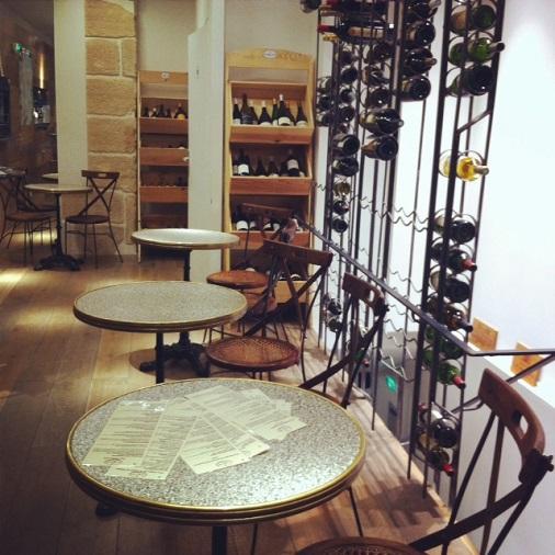 ambiance wine touch cave à vin paris
