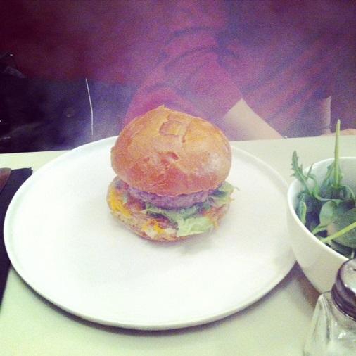 burger qui fume bar à burger