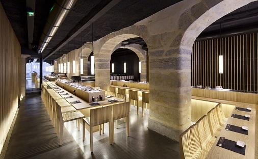 matsuri-design restaurant japonais Hiroko Kusunoki