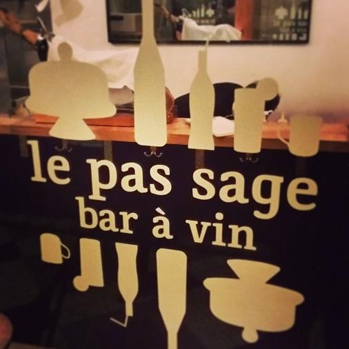 le pas sage bar à vin paris