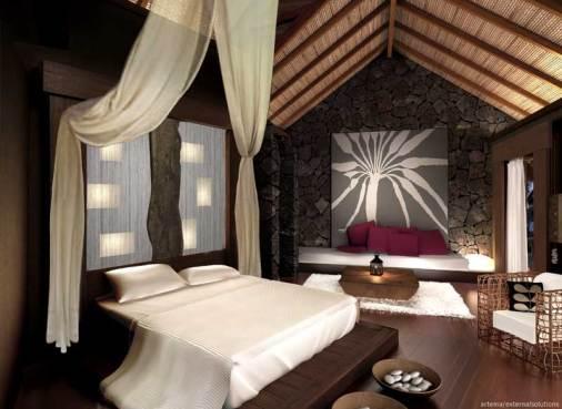chambre domaine de l'orangeraie seychelles lune de miel