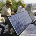 A solar installation