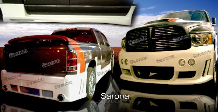 2003 Dodge Ram Rear Spoiler