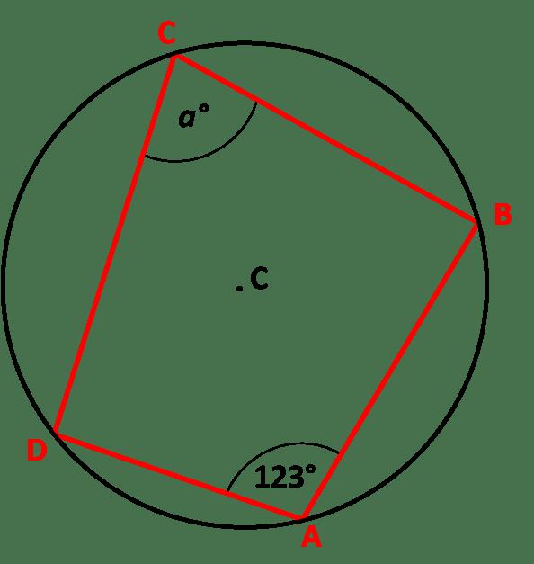 Angles In Cyclic Quadrilaterals