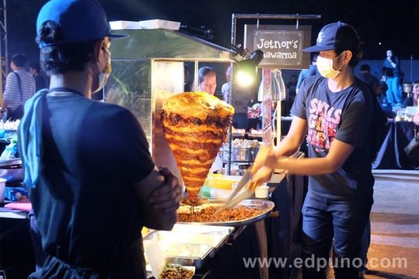 Jetnor's shawarma at gustos mandaluyong