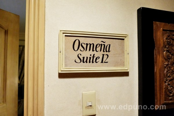 Osmena Suite at Roxas President's Inn