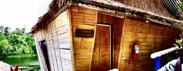Tboli accommodation at Mountail log lake sebu