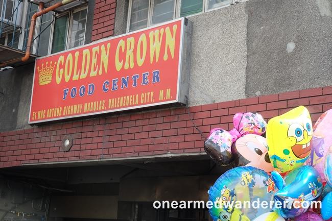 Golden Crown Restaurant at BBB Valenzuela City - One Armed