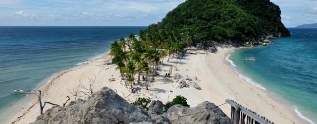 Gigantes Island sandbar