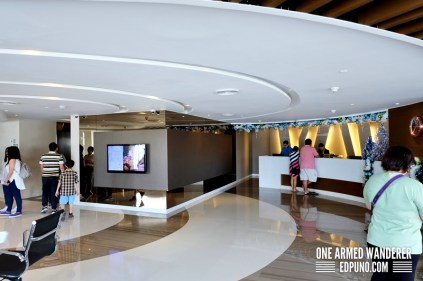 Lobby at the 5th level