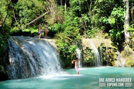 Breathtaking Cambugahay falls