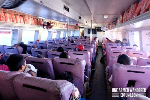 First Class seats Weesam Express