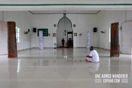 Inside Sheik Makhdum Mosque