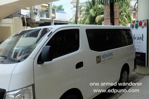 Henann Group of Resorts Boracay van