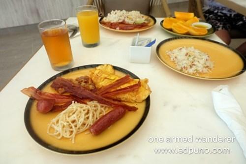 Buffet breakfast at Sea Salt
