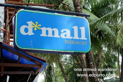 D' Mall at Station 2 Boracay