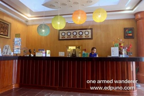 Royal Park Hotel boracay lobby
