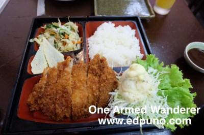 Pork Tonkatsu Little Tokyo