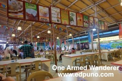 Restaurant at Paradise Island Resort Davao