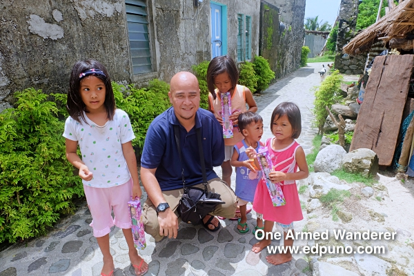 Yours truly with some kids of Chavayan Village.