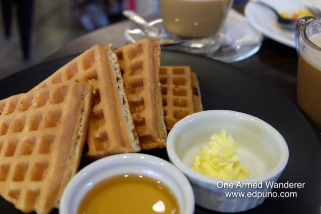 Waffles at U Hotels Makati Philippines