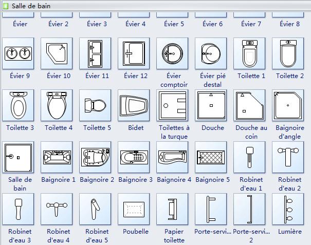 Architectural Symbol Floor Drain