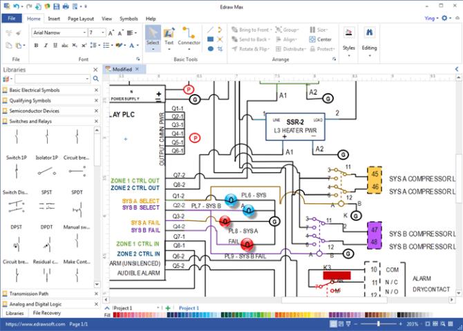diagram electrical wiring diagram design software free full