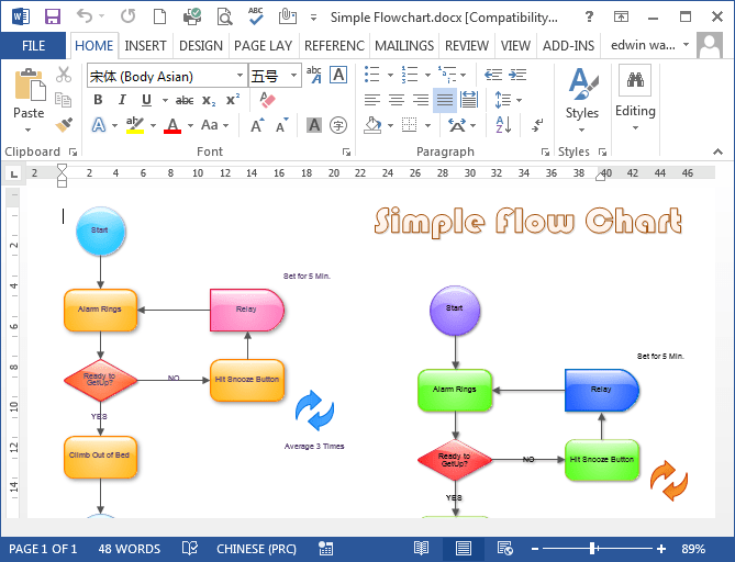 Microsoft Office Flowchart Templates how to flowchart in – Flowchart Template Microsoft Word