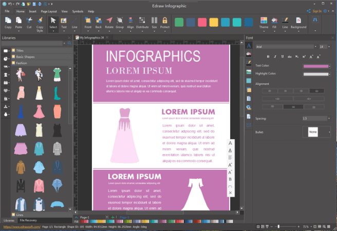 Fully Editable Vector Fashion Infographic Templates Edit Education Infographic Templates
