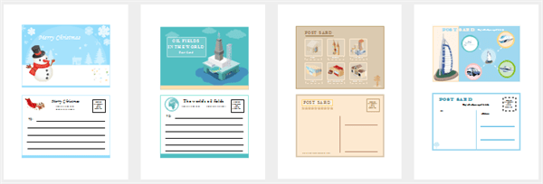 Postcards Examples And Templates