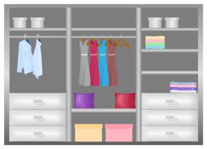 Closet Design Diagram | Free Closet Design Diagram Templates